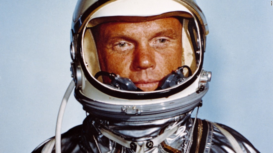 "<a href=""http://www.cnn.com/2016/12/08/health/john-glenn-dead/index.html"" target=""_blank"">John Glenn, </a>the first American to orbit the Earth, died December 8, according to the Ohio State University. He was 95."
