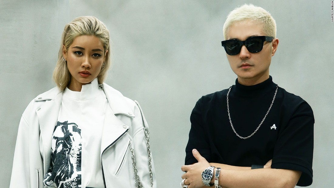 Tokyo-based designers Verbal and Yoon have established a celebrity following with their luxury jewelry company AMBUSH.