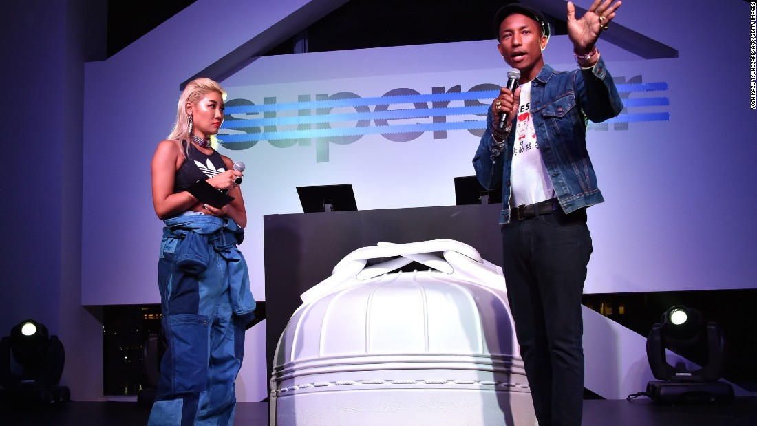 Influential celebrities such as Pharrell Williams are frequently spotted wearing AMBUSH pieces.