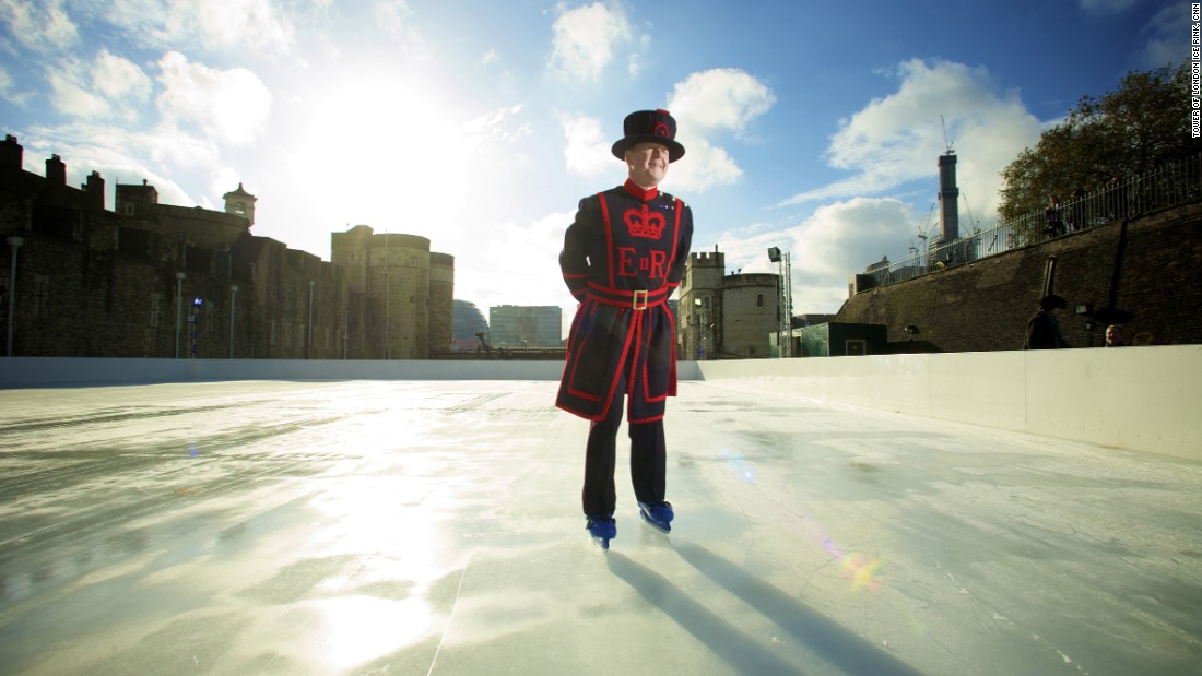 It's not everyone that can say they've been ice skating in the moat of a Norman castle. The Tower of London ice rink allows you to get your blades on in the shadow of one of the world's most iconic fortresses.