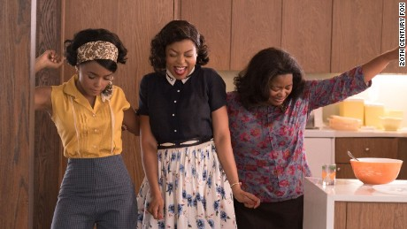 "Janelle Monae, Taraji P. Henson and Octavia Spencer in ""Hidden Figures"""