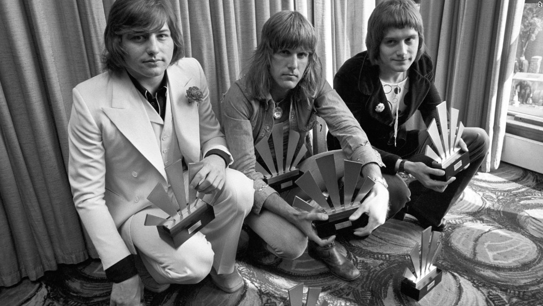 "<a href=""http://www.cnn.com/2016/12/09/entertainment/greg-lake-dies-trnd/index.html"">Greg Lake, left, of the group Emerson, Lake & Palmer died December 7, his manager says, after a bout with cancer.</a> He's seen here with bandmates Keith Emerson, center and Carl Palmer in 1972."