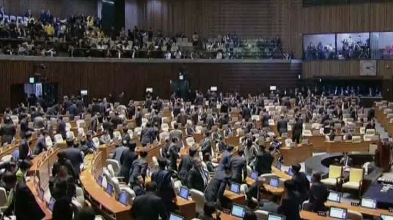 south korea votes to impeach paula hancocks intv_00003726