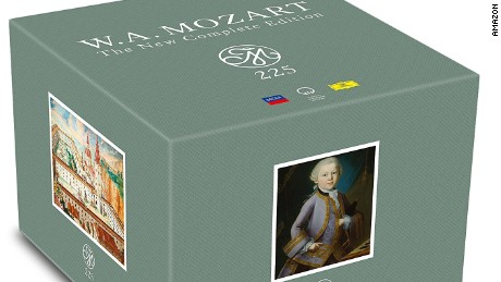 """Mozart 225: The New Complete Edition"" was the best-selling CD of 2016."
