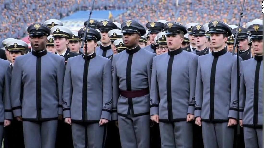 Army, Navy prepare for showdown - CNN Video