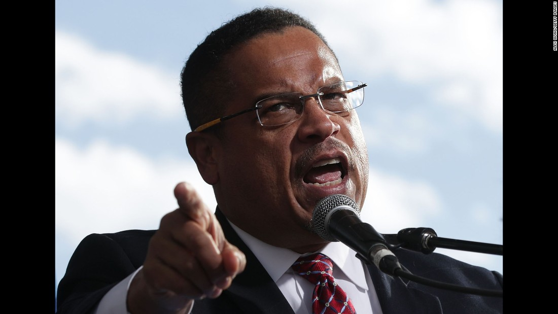 "Minnesota Rep. Keith Ellison speaks during a rally about jobs and workers' rights in Washington on Wednesday, December 7. Ellison -- the <a href=""http://www.cnn.com/2016/11/11/politics/keith-ellison-democratic-national-committee/"" target=""_blank"">first Muslim-American elected to Congress</a> and one of two Muslims currently serving -- said Wednesday he will resign his position in Congress should he win the election to become <a href=""http://www.cnn.com/2016/12/07/politics/keith-ellison-dnc-chair/index.html"" target=""_blank"">chair of the Democratic National Committee</a>."