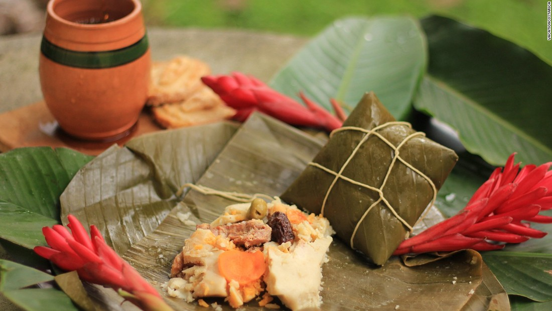 """One of the most authentic Christmas traditions in Costa Rica is to prepare tamales ... every family has a secret tamale recipe,"" says Allan Duarte, banquet manager at Costa Rica Marriott San Jose."