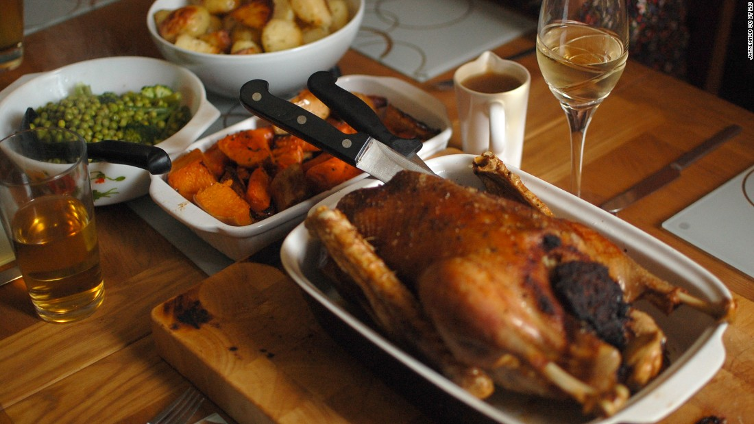 Weihnachtsgans, or German Christmas goose, is the traditional fowl for family feasts, but roast duck is gaining popularity.
