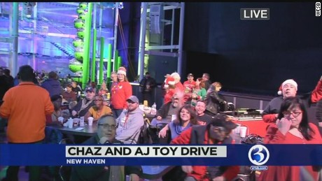Toy drive hopes to warm hearts
