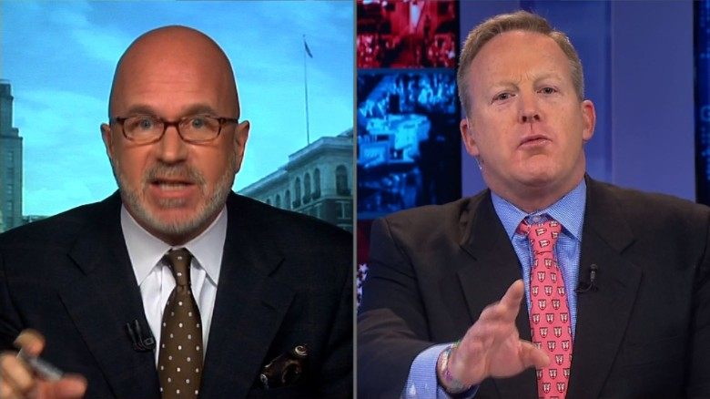 Russia hacking Donald Trump spicer smerconish_00000000