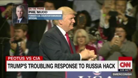 """Ex-CIA analyst: Trump's response to CIA """"corrosive"""""""