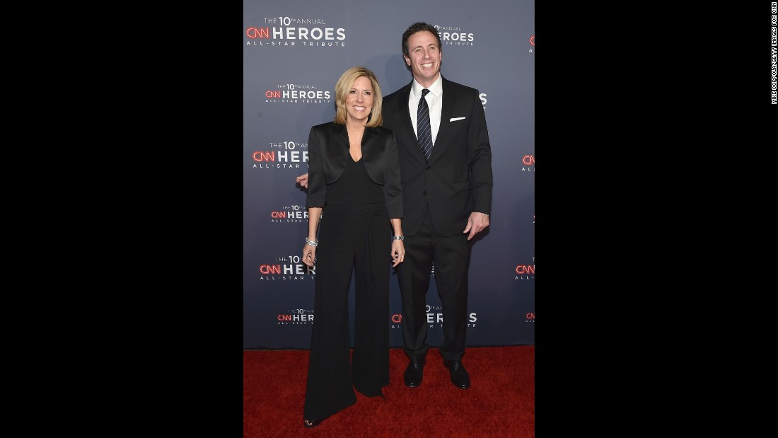 "CNN ""New Day"" hosts Alisyn Camerota, left, and Chris Cuomo"