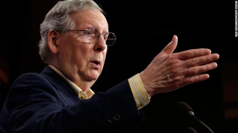 McConnell blunt on border wall payment