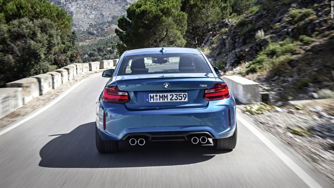 The M2 may be the slowest in the range, but the reduction in potency is easily made up for with eagerness. It makes getting from A to B an absolute pleasure.