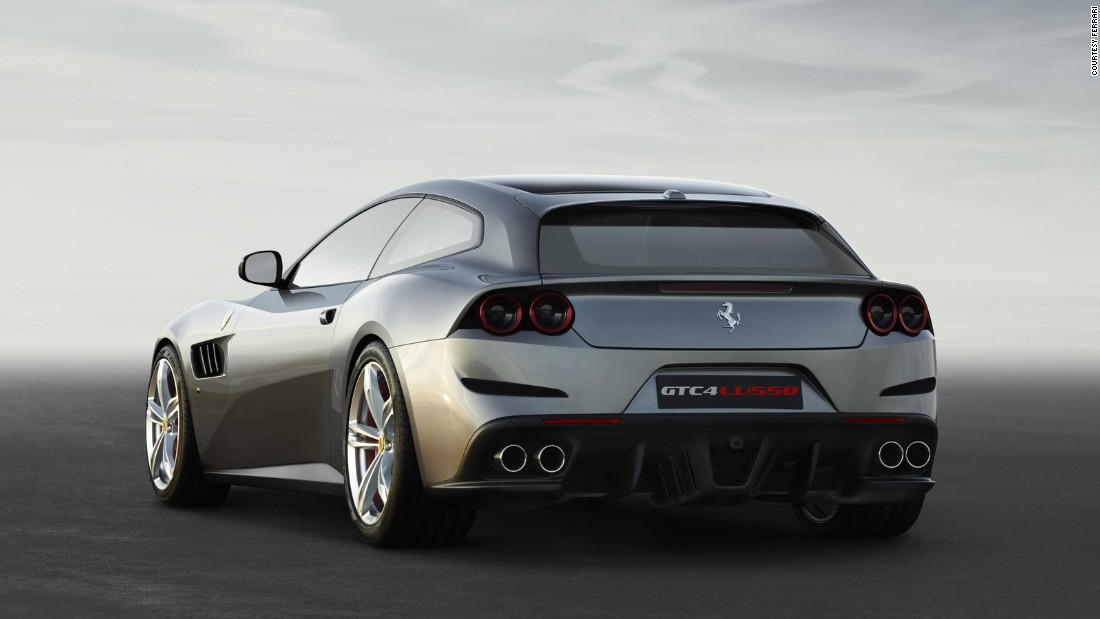 The GTC4Lusso retains the same shooting brake styling that divides opinion as ferociously as its heavily revised 6.3-litre V12 snaps necks. Just about everything that could be made better has been, including a more aggressive design and various performance enhancements.