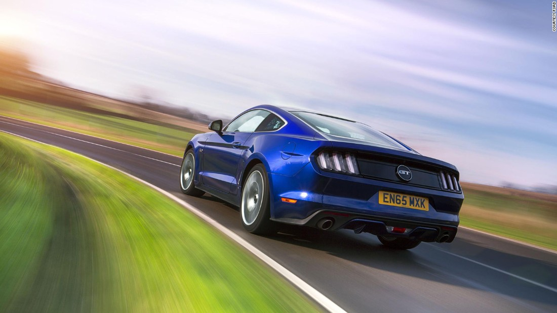 "It took 50 years for Ford to offer a <a href=""http://edition.cnn.com/2016/04/27/autos/ford-mustang-muscles-into-british-car-market/"">right-hand drive model</a> for UK residents, but we are glad it did because the playful nature of those 430 horses under the bonnet make it hugely rewarding to drive -- not to mention delightfully noisy. Few cars evoke such a wonderfully positive reaction from bystanders as you thunder past."