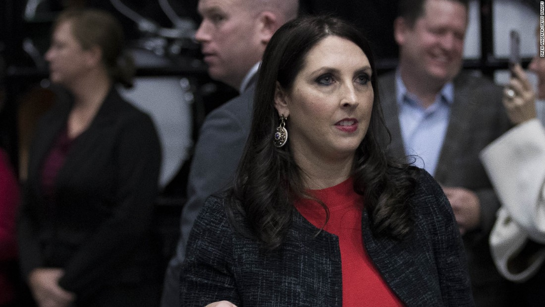 RNC Chair: GOP base will walk away in midterms if wall isn't built ...