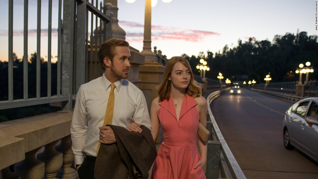 """La La Land,"" which just earned seven Golden Globe awards, features a scene shot on the Colorado Street Bridge in Pasadena with stars Ryan Gosling and Emma Stone."