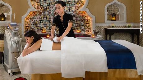Abu Dhabi spa tease