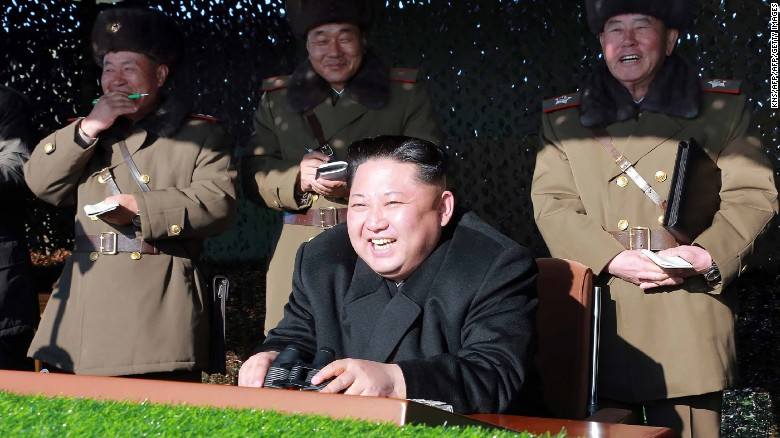Kim Jong Un purportedly supervises war games designed to train troops for an invasion of South Korea.