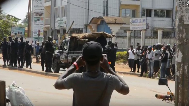 Protests in Cameroon turn deadly