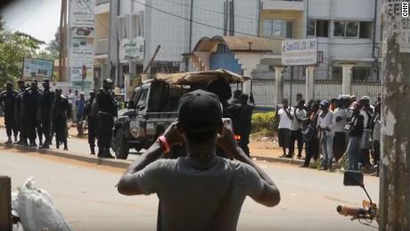 A series of demonstrations in Cameroon's English-speaking regions escalated into violent clashes and a government crackdown that included shutting off Internet services.