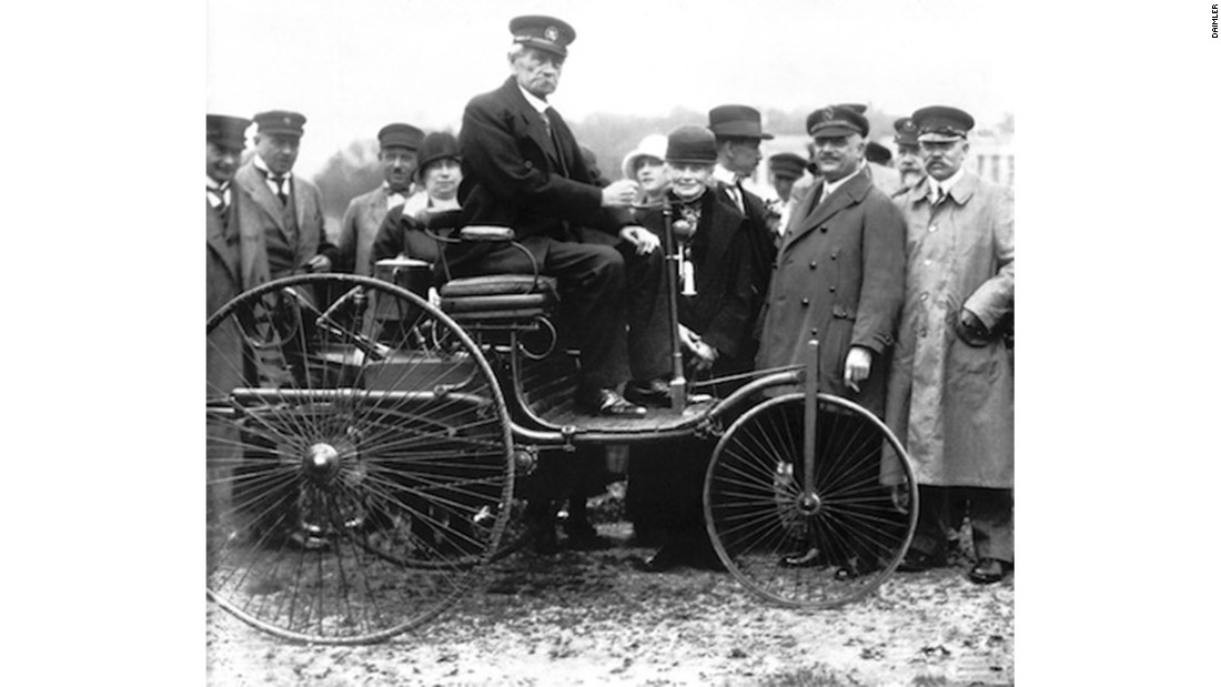 "Karl Benz used his wife's wealth to fund the development of his ""Motorwagen"" --  widely acknowledged to be the first car in the world."