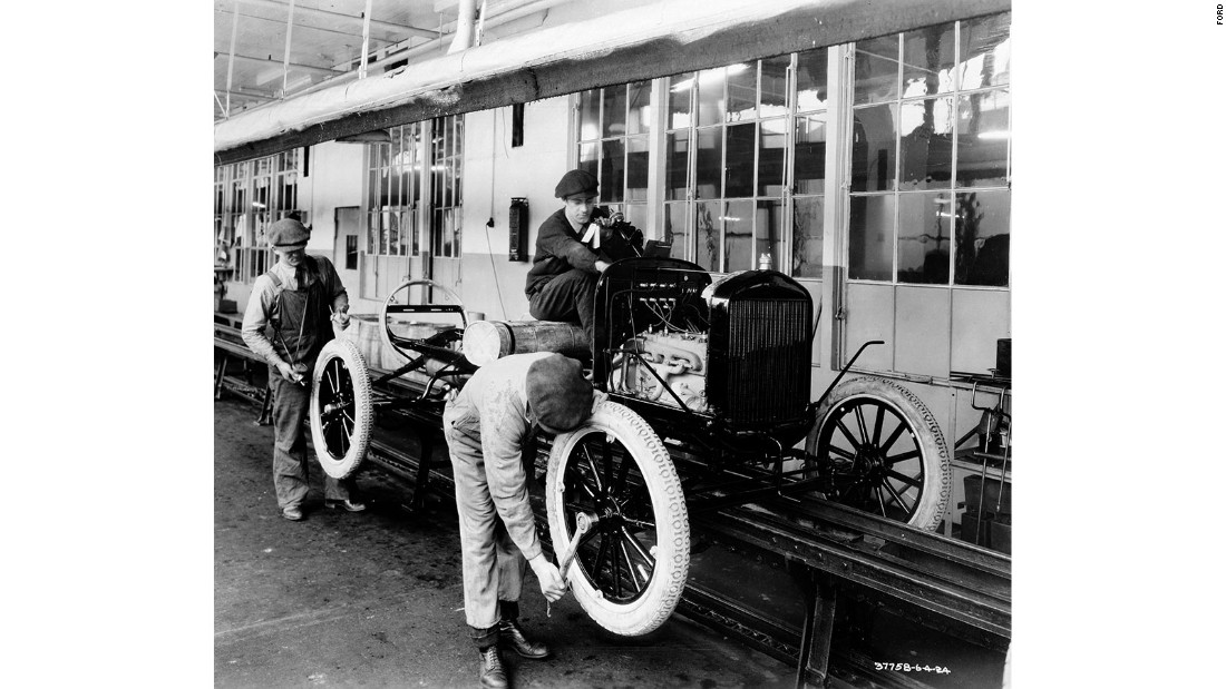 The Model T was so successful that within 10 years of starting production, Ford's Highland Park plant in Michigan had turned out its 10 millionth example of the car.