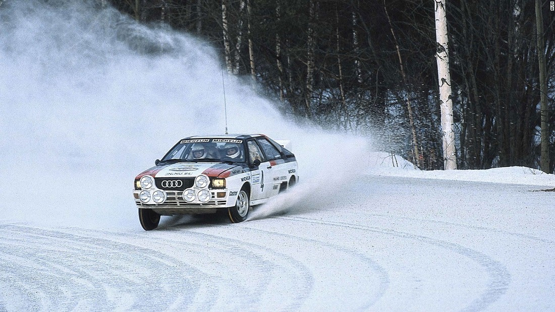 The concept of driving all four wheels was once restricted to utilitarian off-road vehicles. Audi changed that in 1980 with its Quattro -- the first car to bring four-wheel drive to an appealing sports coupe. Audi proved the Quattro's performance potential by entering and dominating the sport of rallying, where its four-wheel drive was a key asset.