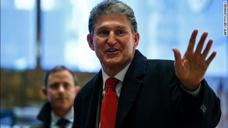 US Senator Joe Manchin