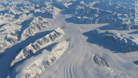 New NASA imagery shows how fast glaciers are melting