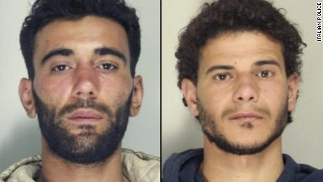 Malek (left) and Bikhit (right) have been ordered to pay  compensation.