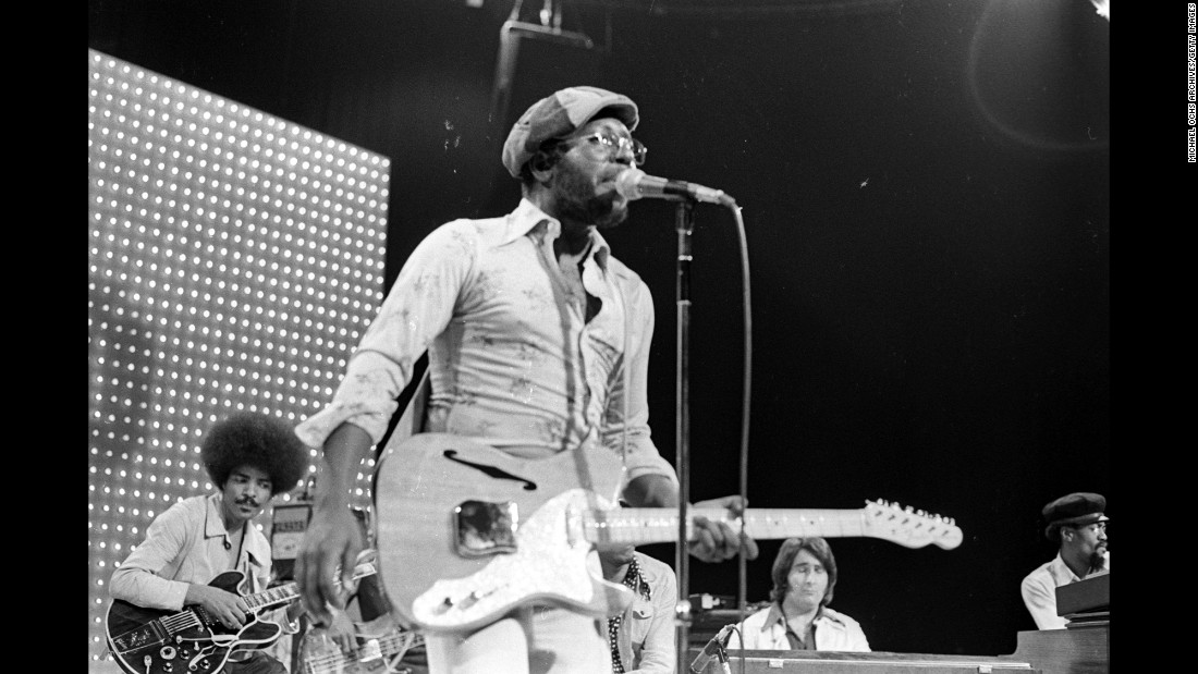 "Singer/songwriter/producer Curtis Mayfield was born in Chicago in 1942 and rose to become a powerful voice in the music world in the 1960s and '70s. He's credited with helping to add more social consciousness to African-American music. The 1965 hit ""People Get Ready,"" which he wrote as a member of The Impressions, has been called one of the top 10 songs of all time. In the '70s, Mayfield scored his highest-charting hit songs with ""Freddie's Dead"" and ""Super Fly."" Mayfield was awarded the Grammy Legend Award in 1994 and was inducted into the Rock and Roll Hall of Fame as a member of The Impressions in 1991 and in 1999 as a solo artist."