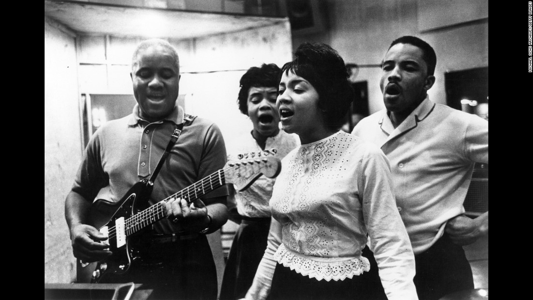 "Chicago's Staple family formed the Staple Singers while singing at church services in the 1940s. Roebuck Staples and his children Cleotha, Mavis, Pervis and Yvonne branched out into non-religious music starting in the '60s -- eventually scoring hits in the '70s like ""I'll Take You There,"" ""Respect Yourself"" and ""Let's Do It Again."" In 1999 the Staple Singers were inducted into the Rock and Roll Hall of Fame."