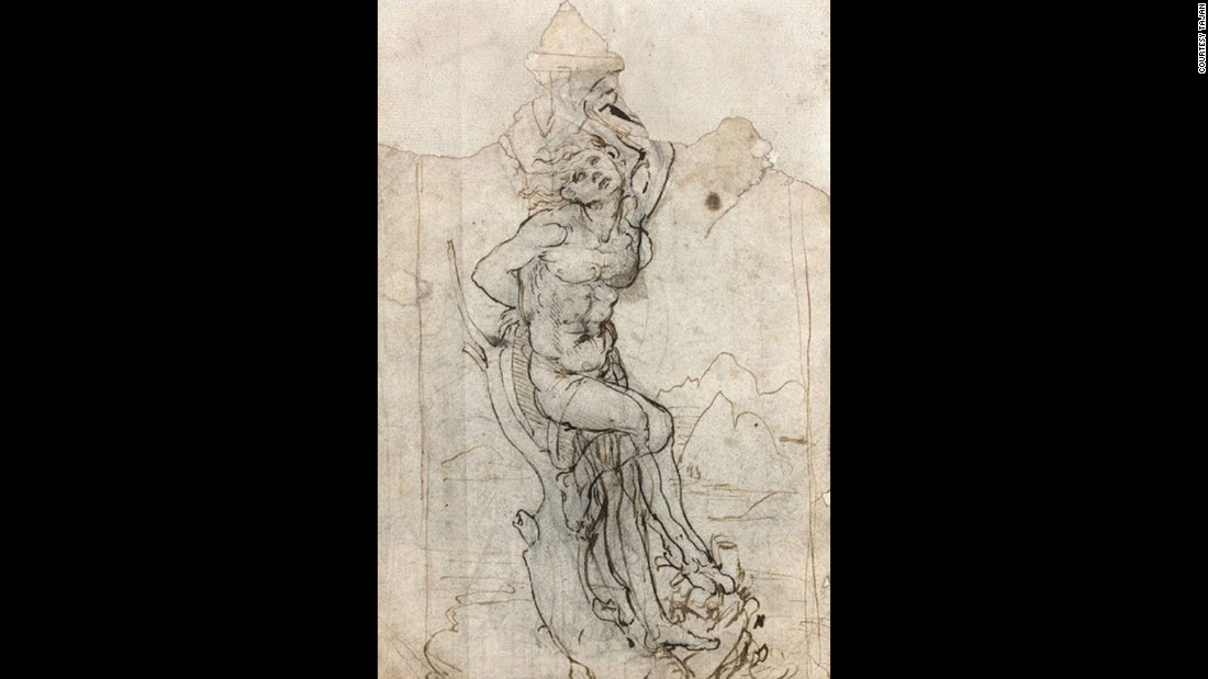 In 2016, a drawing attributed to Italian master Leonardo da Vinci was discovered in Paris, after a portfolio of works was brought to Tajan auction house for valuation by a retired doctor. It was valued at 15 million euros ($16 million).