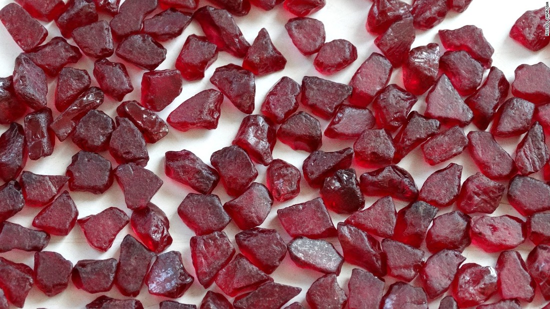 The red gems are often traded as rough cut stones at industry auctions in Asia. The largest markets for uncut ruby is Thailand, Sri Lanka and India, with the largest consumer markets in China, the US and India, experts say.