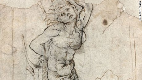 Old sketch is da Vinci worth $16M, retired doctor is told