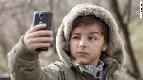 health_children on mobile phones