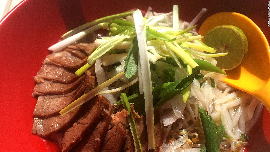 Hanoi Naturally's dishes offer a blend of fresh ingredients and spices.