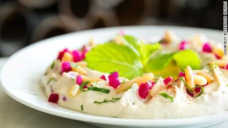 Abu Dhabi must eats Rosewood-Abu-Dhabi-Sambusek---Hummus