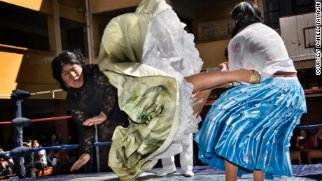 The fighting cholitas: Meet the Bolivian women who wrestle in petticoats