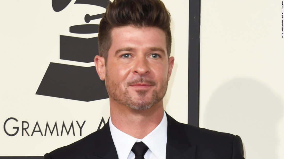 Robin Thicke's Emotional Tribute To Father Alan Thicke