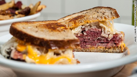 The General Muir: Deli classics include the Reuben sandwich.