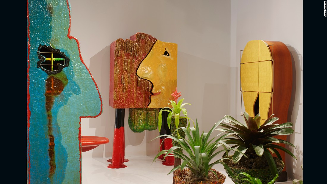 Featuring works by Gaetano Pesce.