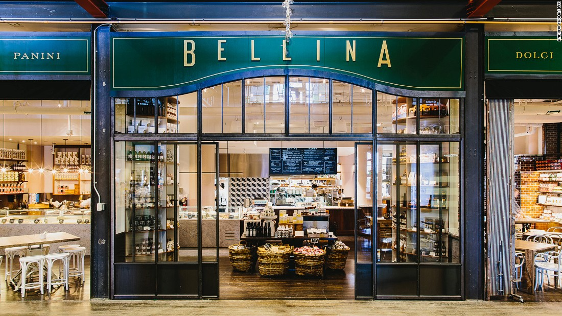 <strong>Bellina Alimentari -- </strong>The 4,000-square-foot Italian restaurant and market at Ponce City Market offers imported Italian wine and food, while cranking out fresh pasta daily.
