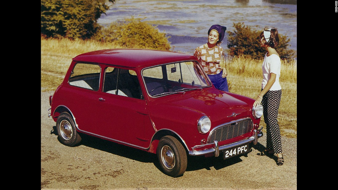 The original Mini defined how small a car could be while still offering practicality for up to four people.