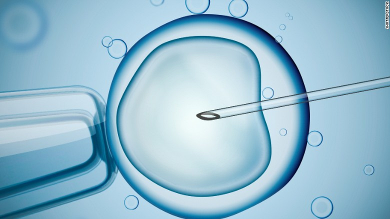 The IVF technique involves replacing the mom39s faulty mitochondria with another39s healthy mitochondria