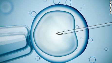 An illustration representing the IVF process.