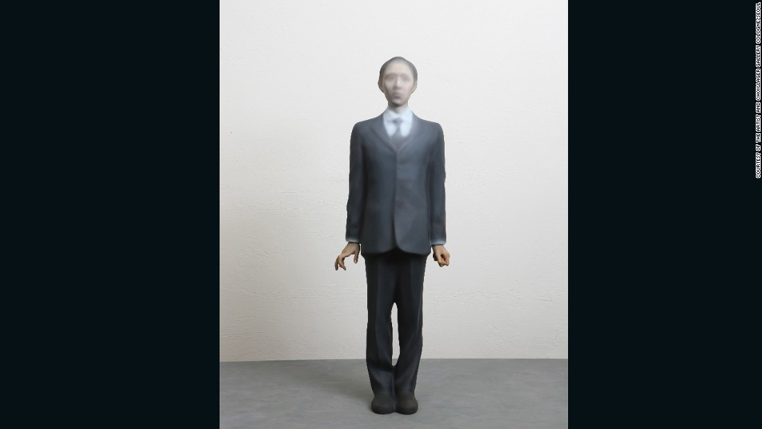 """My work tends to center around the human body,"" says Choi. ""Individuals existing, struggling in different situations of social power and relationships.""<br />"