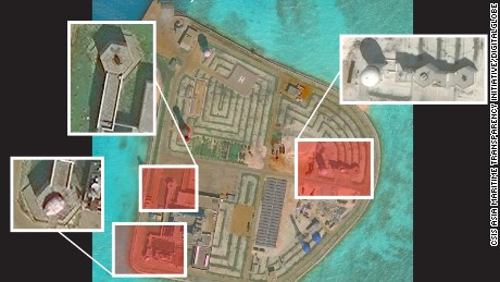 Report: China installed weapons on islands